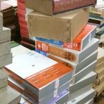 日本国語大辞典など段ボール50箱以上大量の古書を千葉市検見川区にて出張買い取りさせて頂けました
