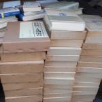 戦記物や文学全集など幅広いジャンルの本を出張にてお売り頂きました