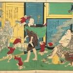 一景や歌川芳艶の浮世絵帖をお売り頂きました