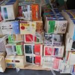 ちくま学芸文庫など学術系の文庫を多数お譲り頂きました