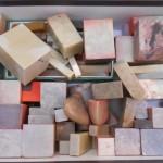 篆刻書と共に石印材や硯など書道道具等もお売り頂きました