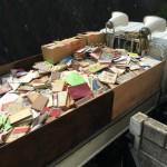 大量の本の買い取りと廃棄処分について