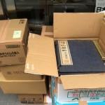 中国篆刻叢刊など書道に関する古書を宅配便にてお送り頂きました