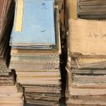 寺院の倉の整理で出た古い和本や古書を多数お送り頂きました